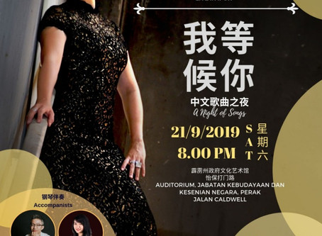"""Longing for you"" by Soprano Ang Mei Foong Live in Ipoh"