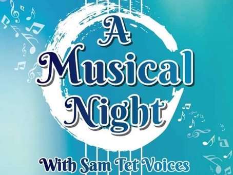 """2019 """"A Musical Night with STV"""" by Sam Tet Voices"""