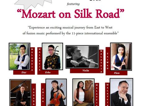 "The PSPA International Ensemble Proudly Presents   ""Mozart on Silk Road"""