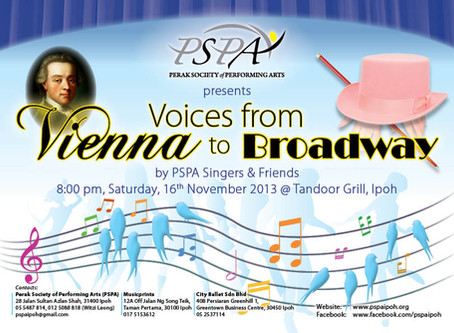 The PSPA Singers Presents  :  Voices from Vienna to Broadway