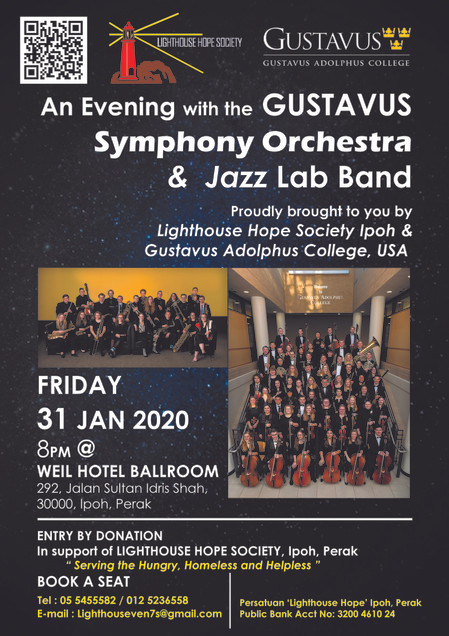 An Evening with the Gustavus Symphony Orchestra and Jazz Lab Band