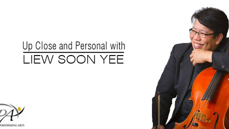 PSPA Presents - Up Close and Personal with Liew Soon Yee
