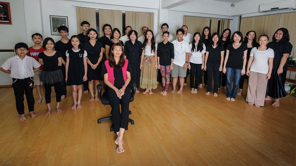 "A group photo of PSPA Singers, comprising from the young to the, well, mature. The youngest members are still in primary school. Ms. Teng, the pianist, is the only one sitting here, at the ""insistence"" of the members as she never get to stand during the session… Names of the singers: Front Row (From Left to Right)Chloe Chai, Hanna Lim Jiun-Ann, Sarah Sim Wei Ning, Judy Ang, Angeline Lim Mei Kim, Ng Su Ming, Marianne Poh Yuet Mun, Nurul Solelah Bt Yahya, Nur Fardinaz Bt Fadzil, Chong Sze Chee, Joycelyn Lim, Cassandra Chong Lai Fun, Carmen Pang Qiao Wei Back Row (From Left to Right)Derek Tan You Lik, Ezra Tham Yongsen, Matthew Poh Soon Xiang, Chai Jin Jann, Dominic Ng Chee Kin, Tony Lee Chai Thang, Rafee Idris, Jeff Azzuddin, Samantha Lee Jiun-Lynn, Cassandra Teoh Sue-Mae, Katherine Ooi Phaik Choo, Kyriea Idris"