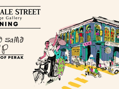 22 Hale Street Heritage Gallery Opening with SAMA SAMA PoP