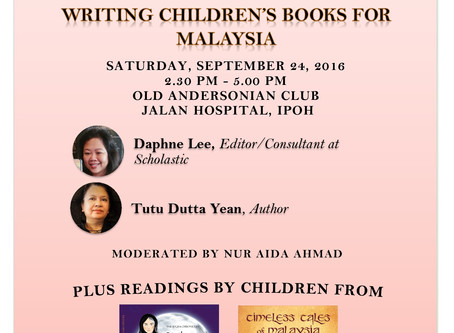 Sharpened Word Presents : Writing Children's Books for Malaysia