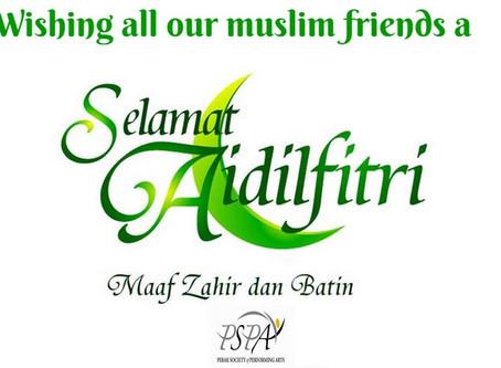 Wishing all our Muslim friends a Selamat Hari Raya 2015!