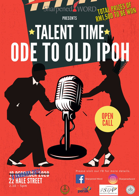 Talent Time - Ode to Old Ipoh Wrap-up