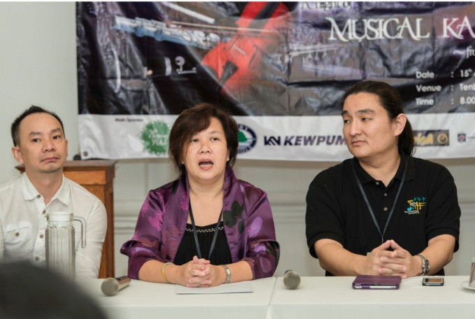 Datin Rosalina at the Press Conference on Tuesday said Entering its 9th year, the PSPA International Ensemble continues to provide the highest artistic excellence to the local audience.