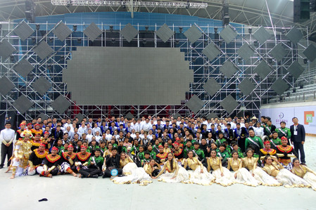 Sam Tet Secondary School Marching Band won Gold Award in 34th Shanghai Spring International Music Fe
