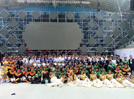 Sam Tet Secondary School Marching Band won Gold Award in 34th Shanghai Spring International Music Fe