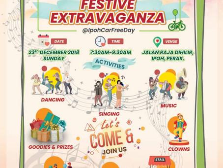 2018 PSPA Festive Extravaganza @ Ipoh Car Free Day
