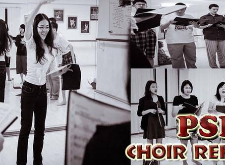 PSPA Choir Rehearsal