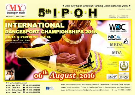 5th IPOH International Dancesport Championships 2016
