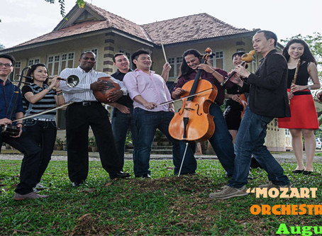 """Mozart on Silk Road"" orchestral concert * Performs in Ipoh for one night only - August 23"