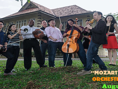 """""""Mozart on Silk Road"""" orchestral concert * Performs in Ipoh for one night only - August 23"""