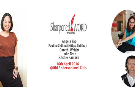 Sharpened Word - 16th April 2016