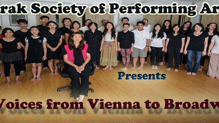 Perak Society of Performing Arts presents Voices from Vienna to Broadway
