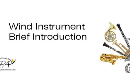 Wind Instrument Brief Introduction