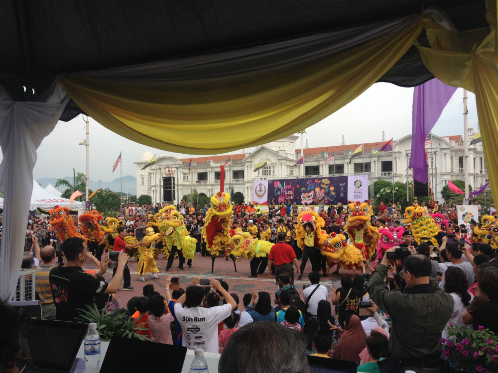 Persatuan Wushu Naga & Singa
