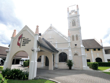 All About The Venue - WESLEY METHODIST CHURCH IPOH (121, Jalan Lahat, 30200 Ipoh)