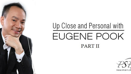 PSPA Presents - Up Close and Personal with Eugene Pook - PART II