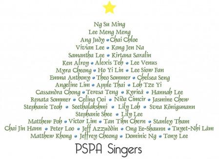 PSPA Singers The Chimes of Love Choir - PSPA Singers