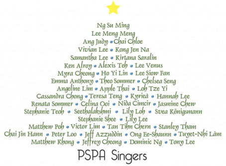 PSPA Singers The Chimes of Love Choir - PSPA Singers