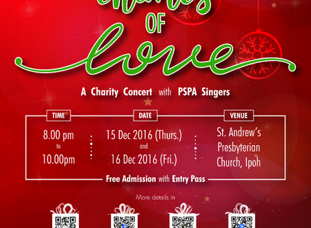 PSPA Singers presents – The Chimes of Love