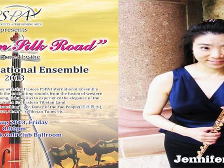 "PSPA International Ensemble ""Mozart on Silk Road"" - Jennifer Teng"