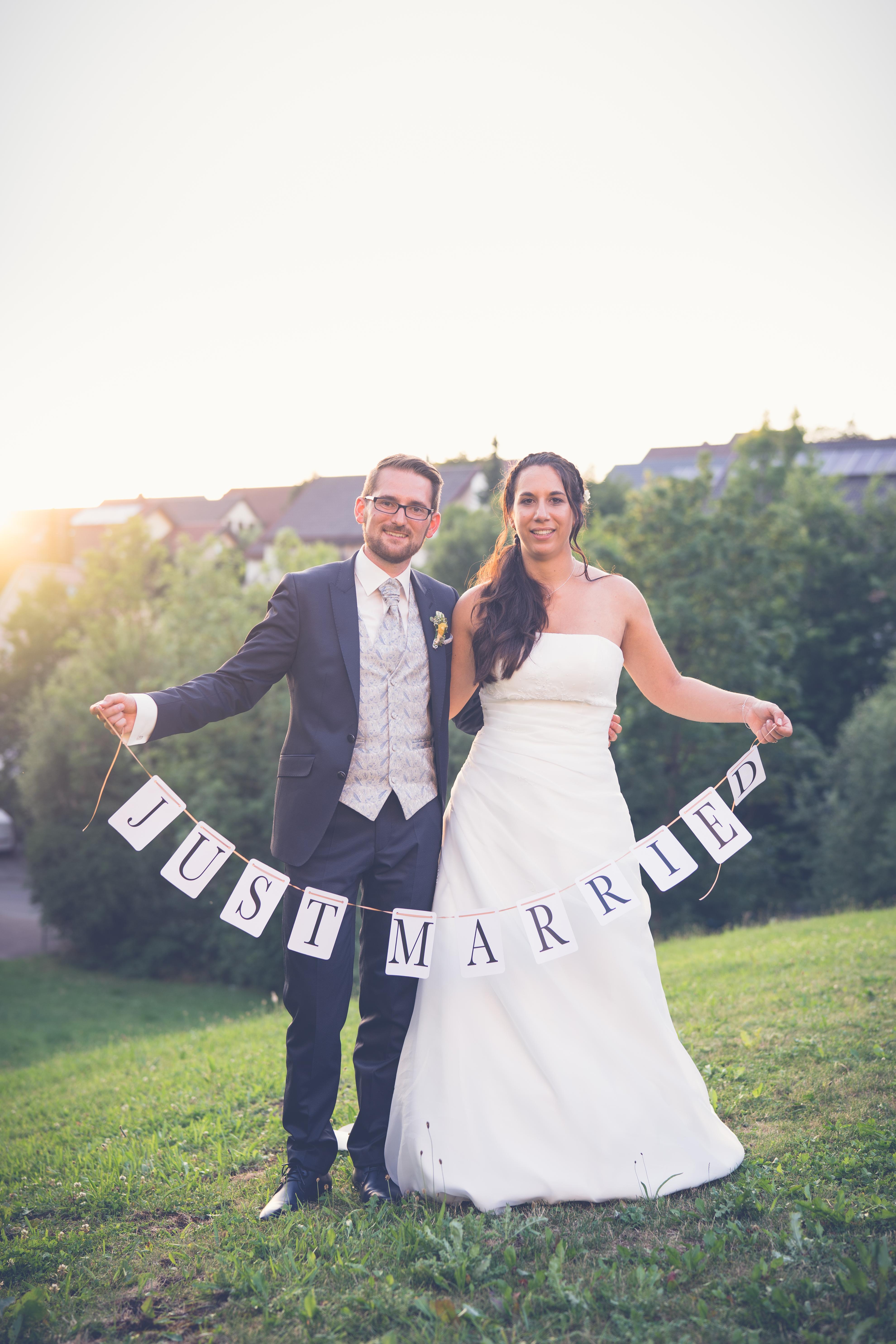Hochzeitspaar aus Schwäbisch Hall