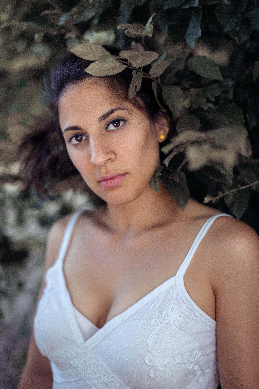 Portrait einer bezaubernden Frau