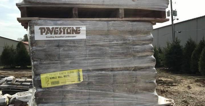 Keystone Pallets of Pavers