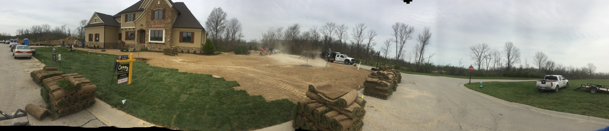 Sod & Landscaping for Spec House 1