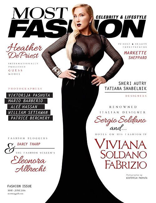 Most Magazine Fashion Edition 2016 Issue NO 12 $50 donation