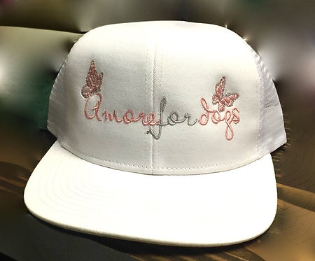 Amore For dogs hat   $15 donation