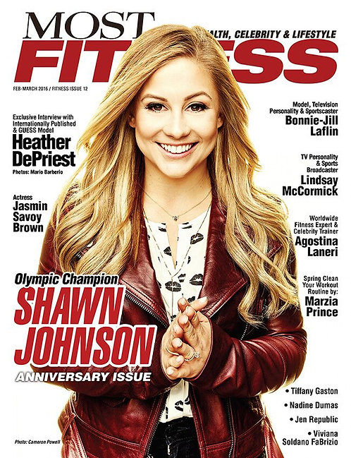 Most Magazine  Fitness 2016 Issue NO 12 $25 donation