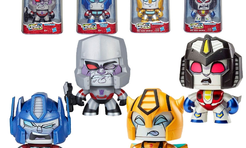 Mighty Mugg TRANSFORMERS 4 modelos Hasbro