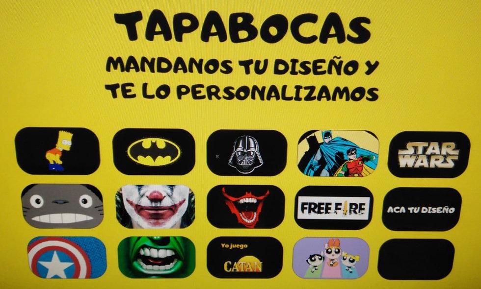 Tapabocas Personalizados