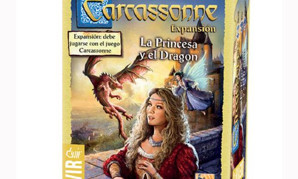 Carcassonne La Princesa y El Dragon