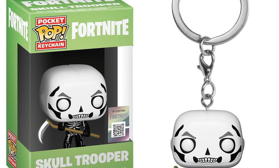 LLavero Skull Trooper