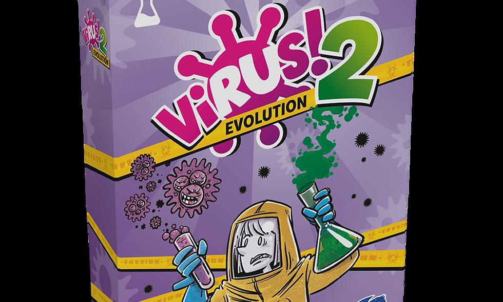 Virus 2. Evolucion.