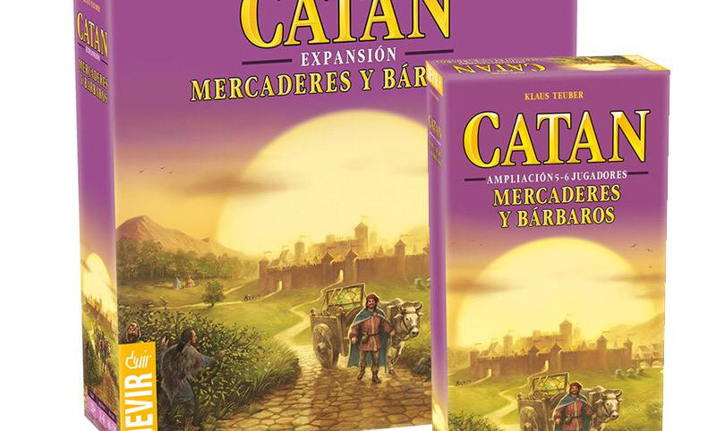PACK Catan Mercaderes y Barbaros