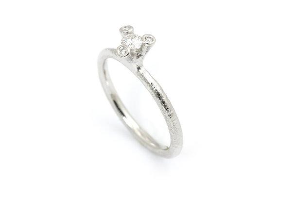 Twigs diamantring