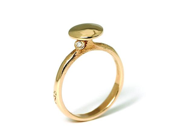 Diamond Dots ring
