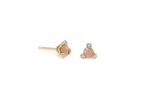 Twigs Moonstone earrings