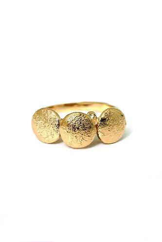 Diamond Dots ring (Rustic)