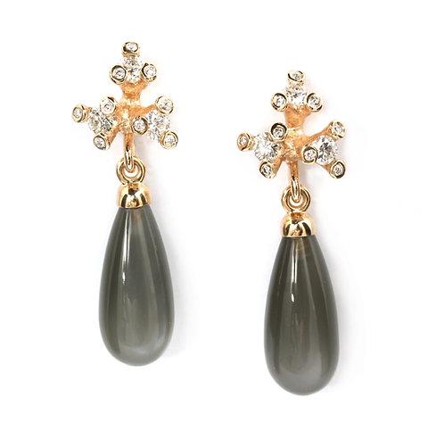 Party Twigs Diamond earrings