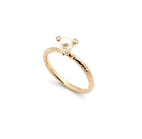 Twigs Pearl ring