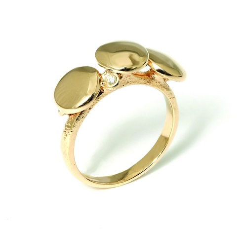 Diamond Dots ring (Blank)