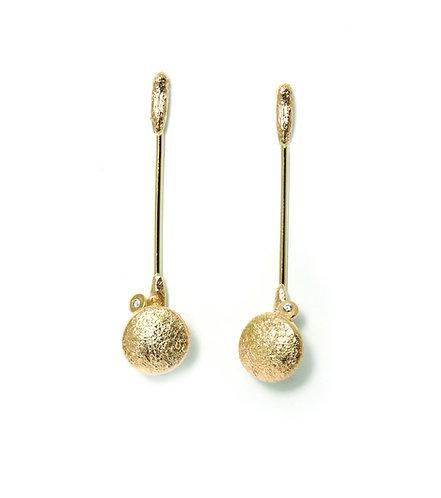 Diamond Dots earrings (Rustic)